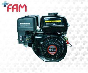 موتور تک بنزینی لانسین G200F-B کلاچ دار 6.5 اسب